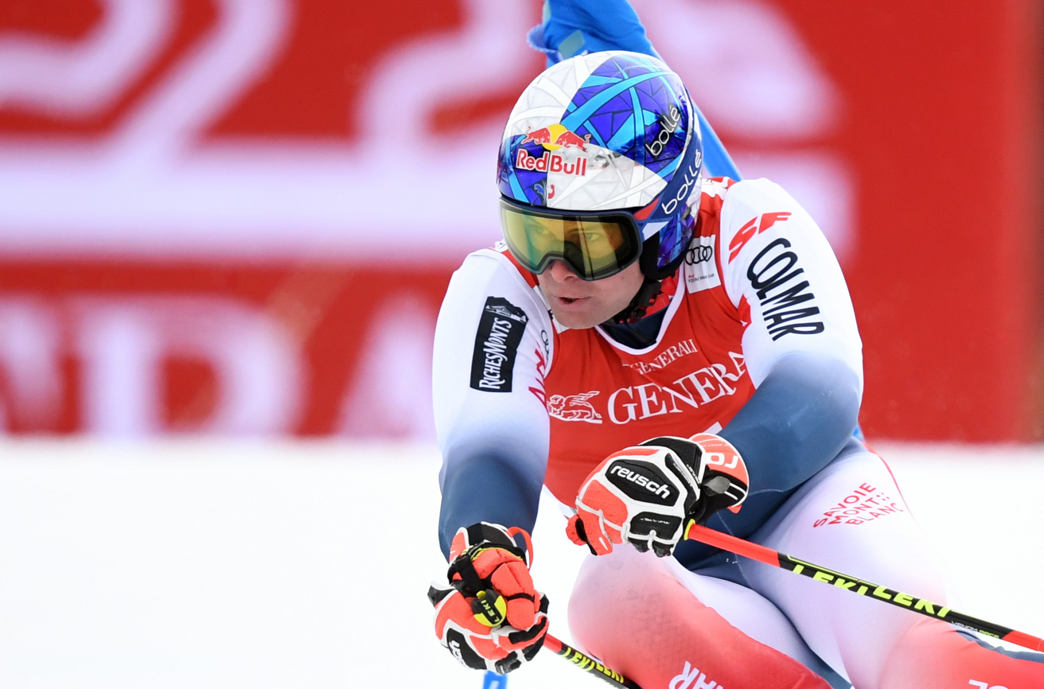 Pinturault second in overall standings after second giant slalom win of World Cup season