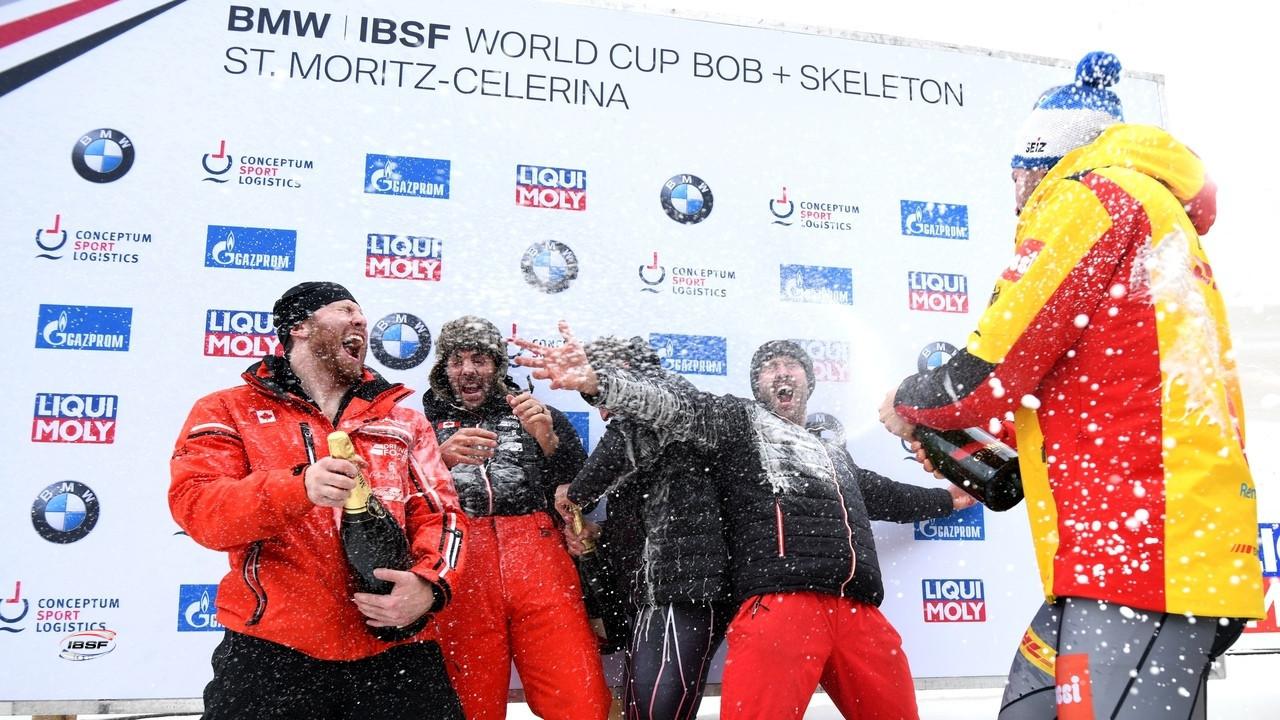 Friedrich wins four-man bobsleigh World Cup title in dramatic fashion