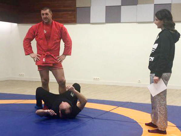 Sambo referee seminar takes place in Madrid