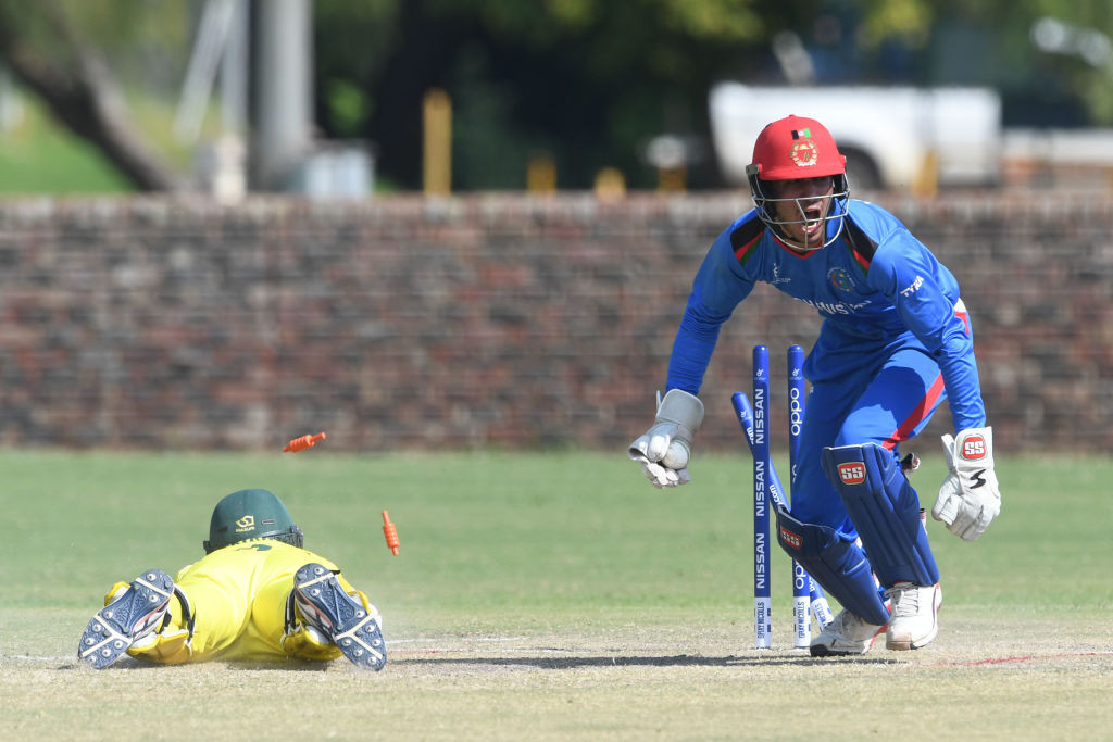 Australia reach fifth place playoff at ICC Under-19 World Cup in thriller with Afghanistan