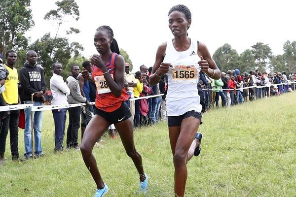 Lydia Lagat won the women's senior race in the final round of the World Athletics Cross Country Permit series in Portugal - ©World Athletics