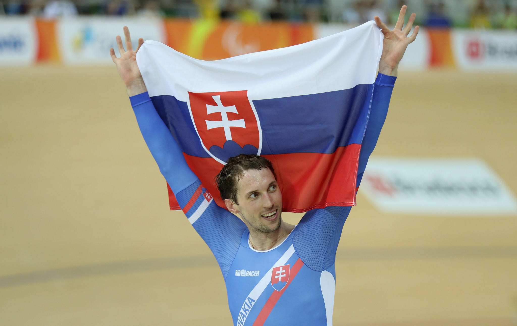 Slovakia's Jozef Metelka ended the event with three gold medals  ©Getty Images