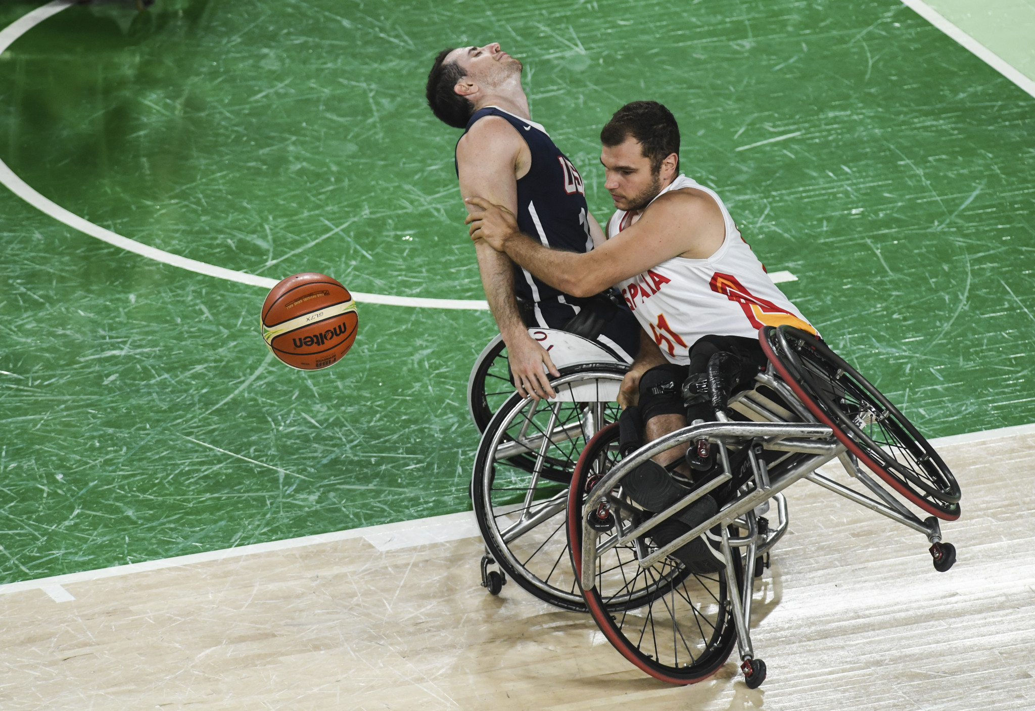 Wheelchair basketball could miss out on the next two Paralympic Games if the classification issues are not resolved ©Getty Images