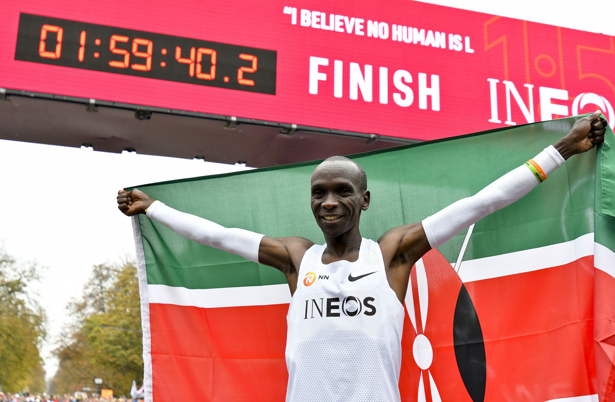 Kipchoge and Kosgei headline Kenyan marathon squad for Tokyo 2020