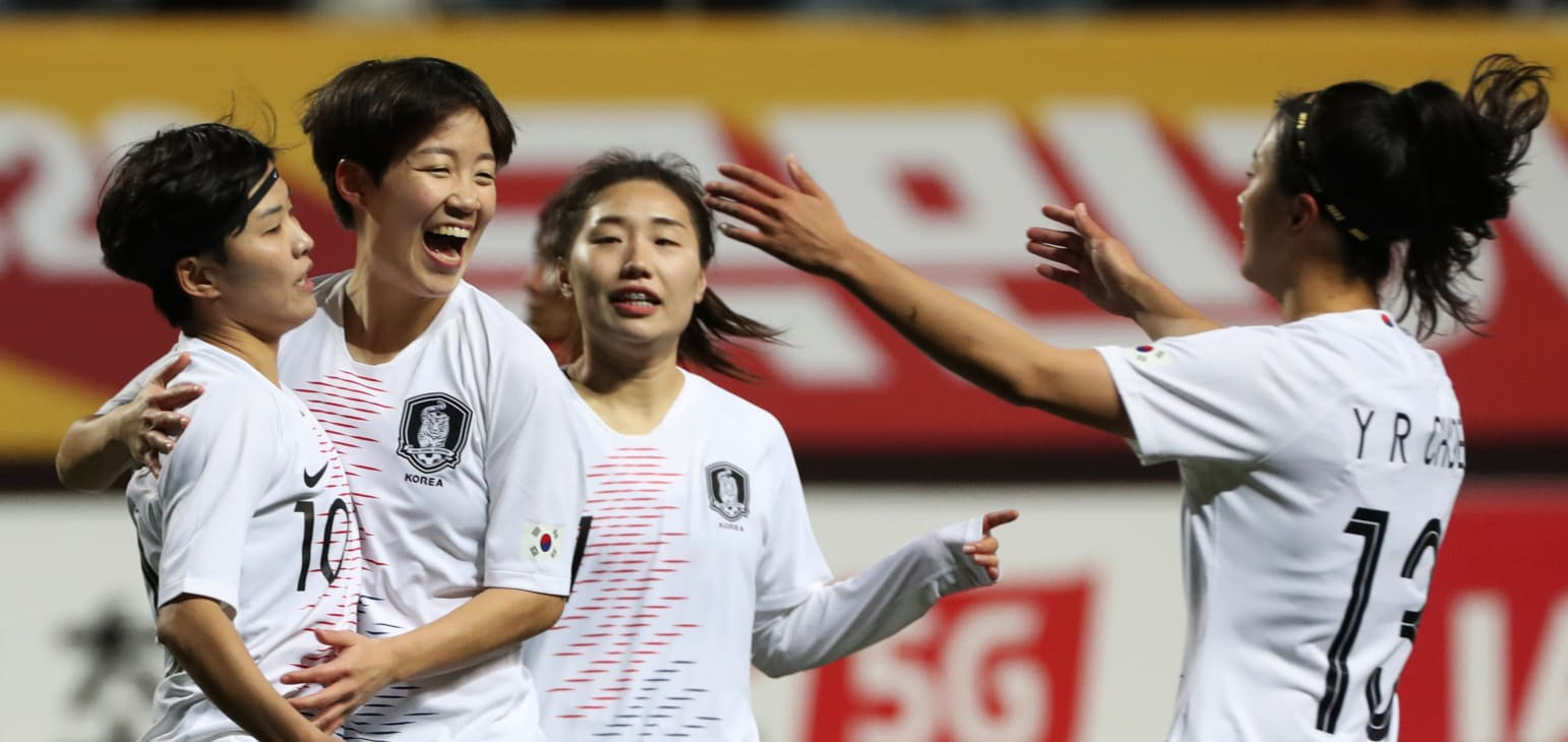 South Korea thrash Myanmar as AFC Women's Olympic Qualifying final tournament kicks off