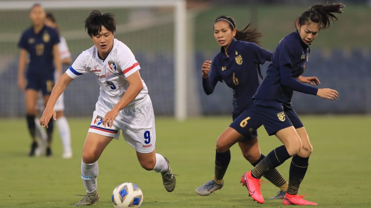 Chinese Taipei edged past Thailand in their opening game of the AFC Women's Olympic Qualifying final tournament  ©AFC