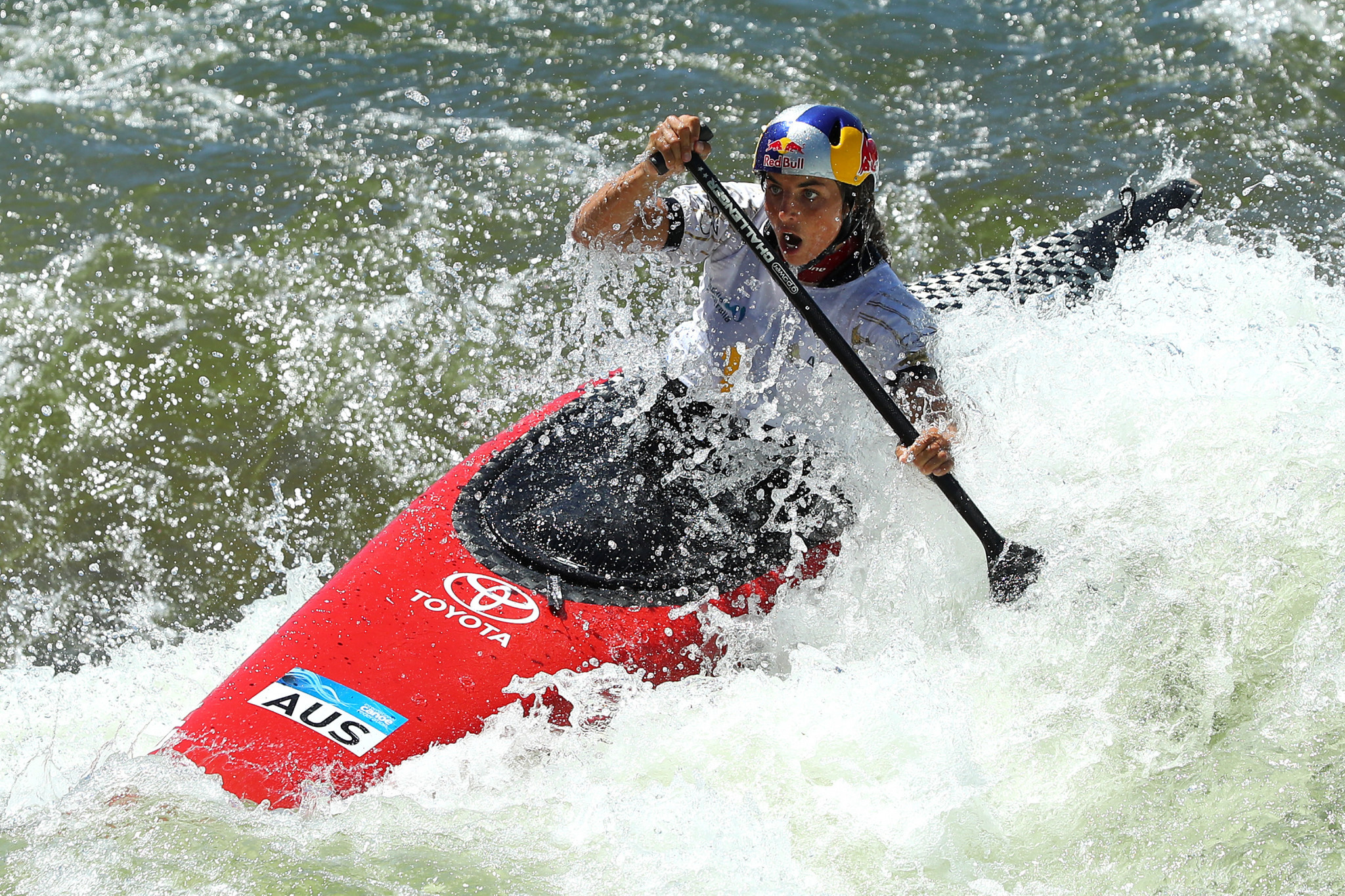 Fox and Delfour continue Australian domination at Oceania Canoe Slalom Championships
