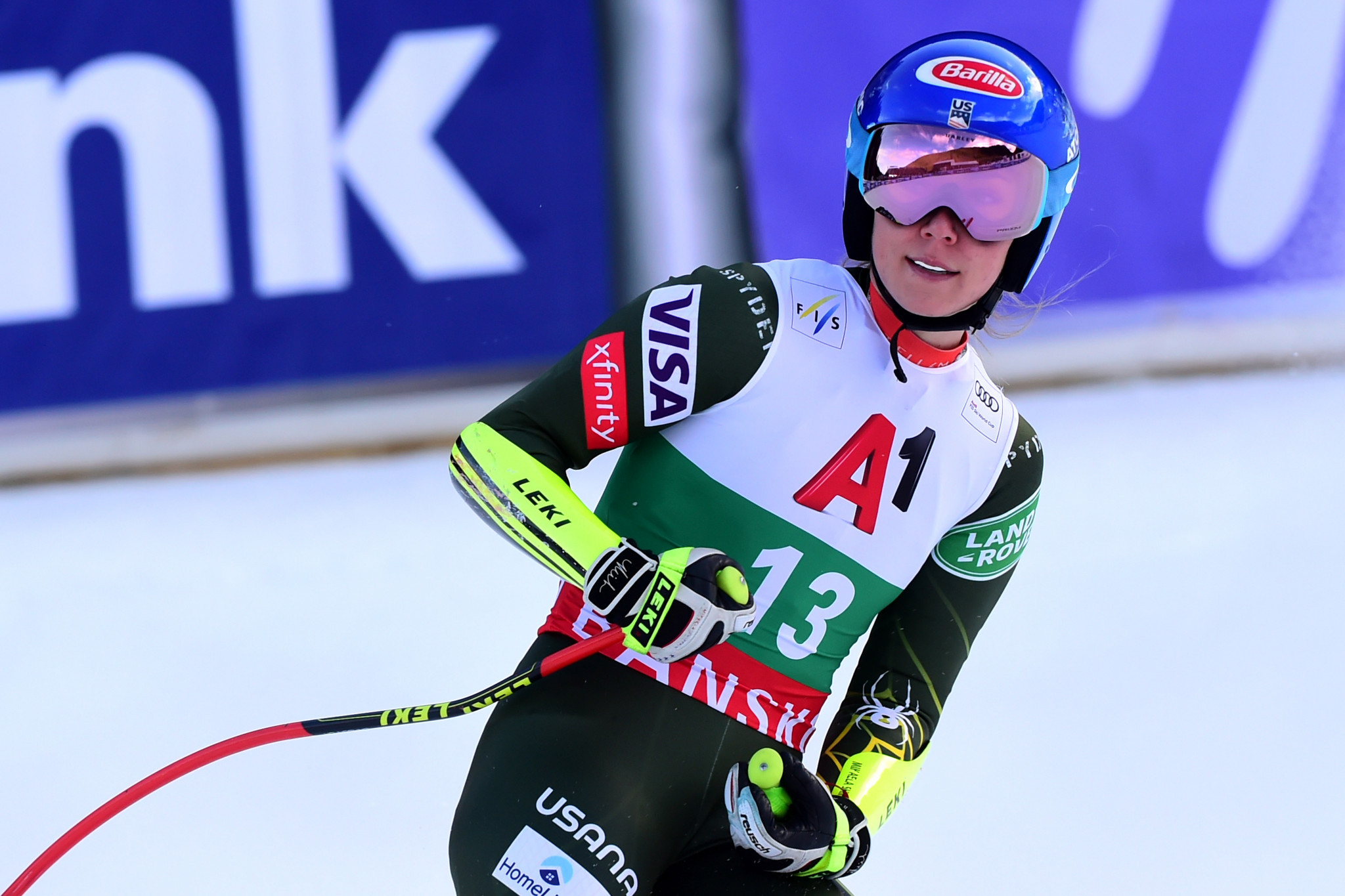 Shiffrin nominated for third consecutive Team USA Award