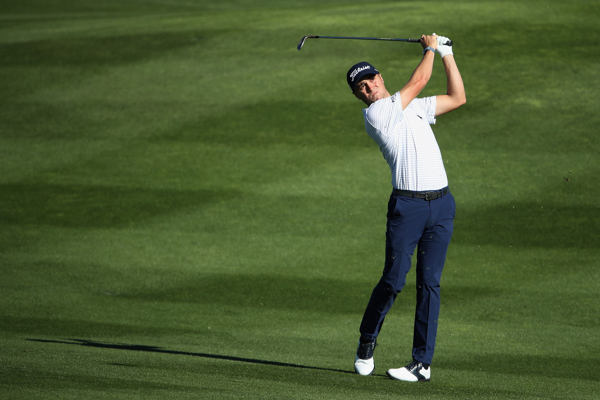Justin Thomas is up for male athlete of the month in the Team USA Awards ©Getty Images