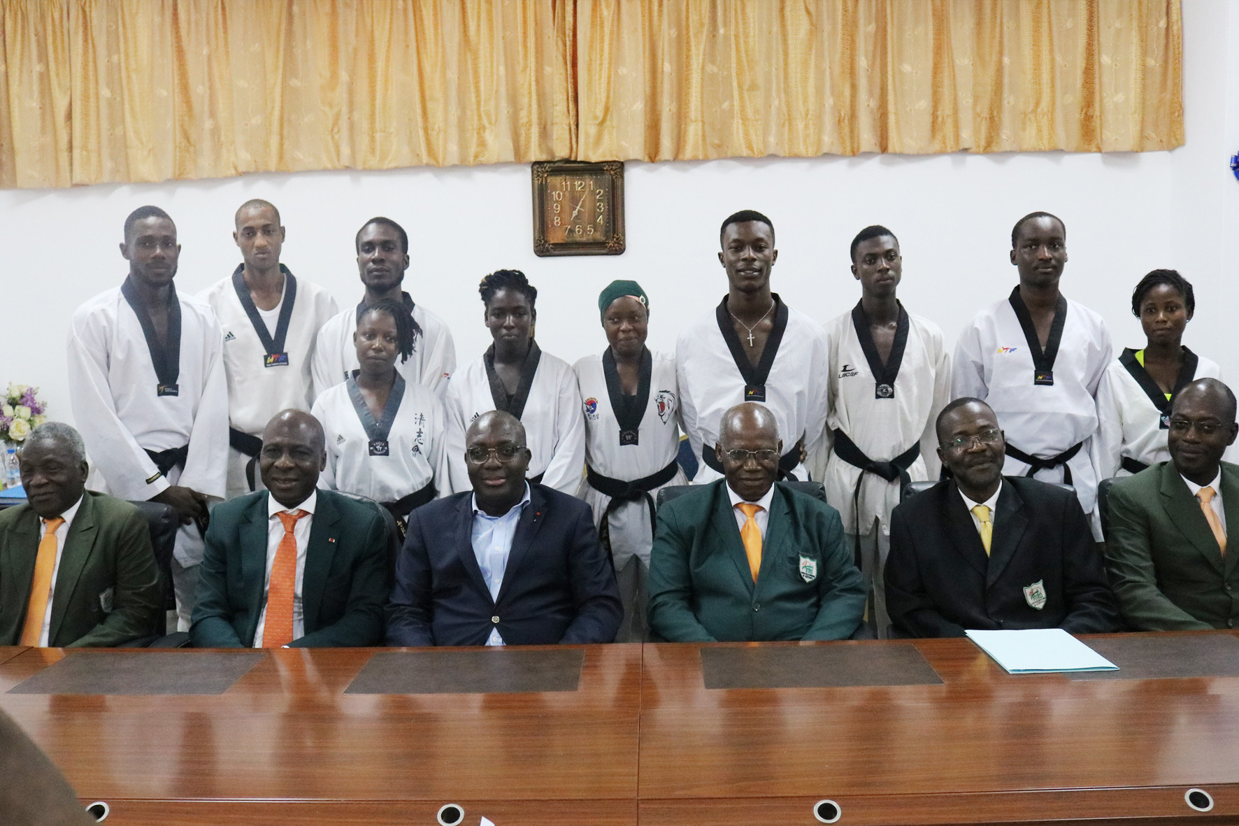 Ivorian Taekwondo Federation sign agreement with National Institute of Youth and Sports of Abidjan