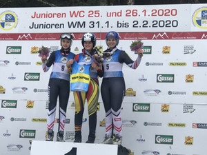 Hosts Austria earn two gold medals at FIL Luge Junior World Championships
