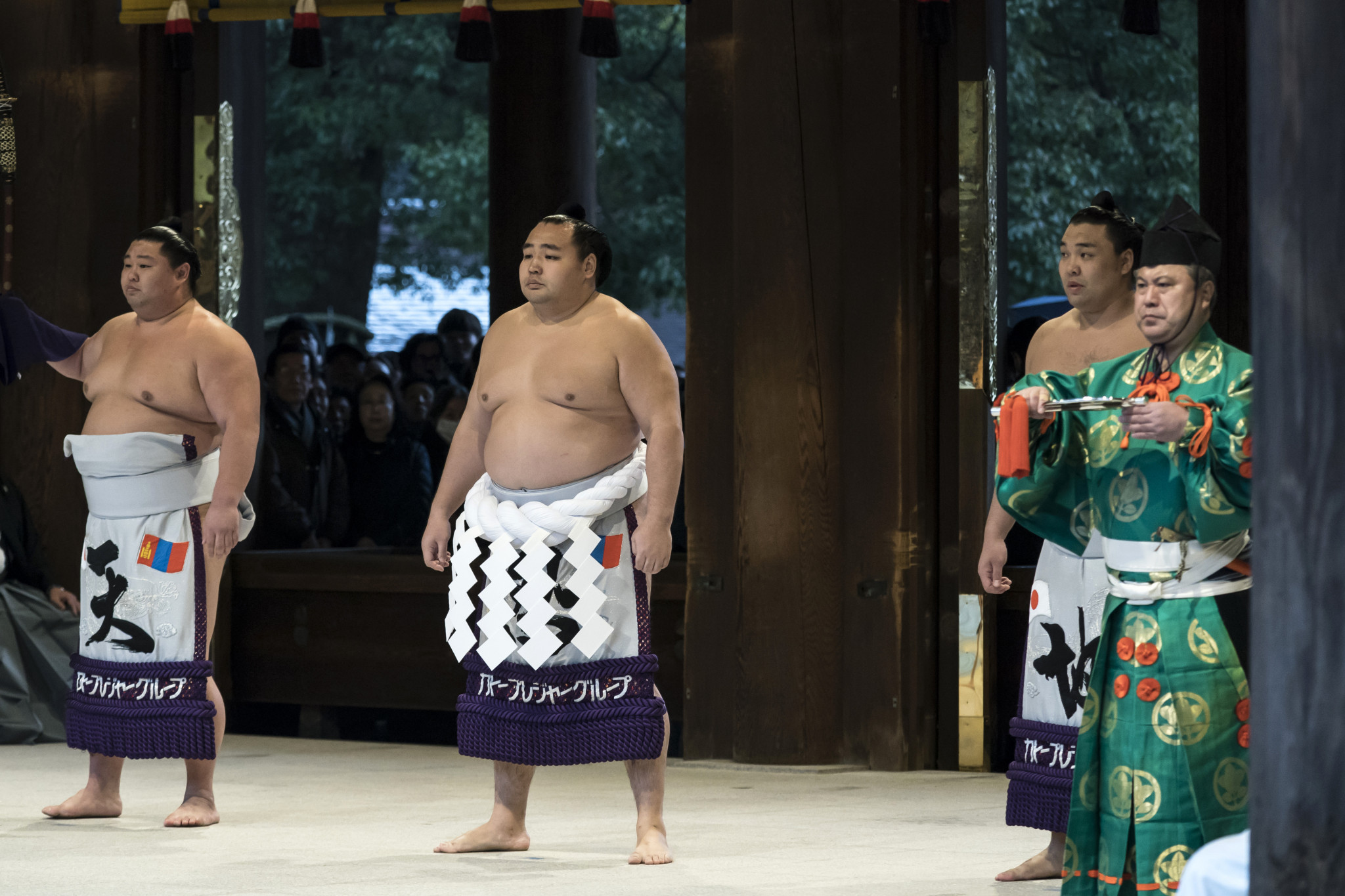 A sumo tournament is set to be organised in between this year's Olympic and Paralympic Games as part of the Tokyo 2020 Nippon Festival ©Getty Images