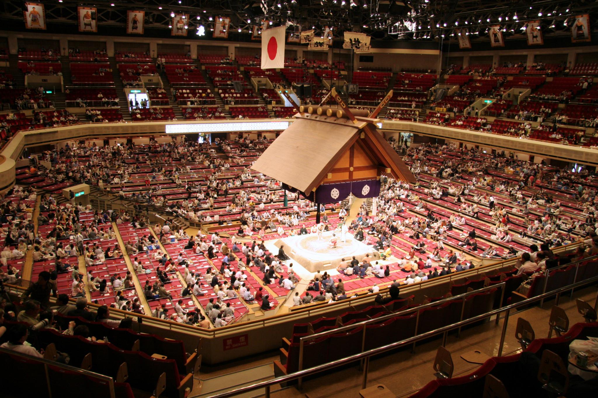 The sumo tournament will take place at Tokyo's Ryogoku Kokugikan Sumo Arena ©Wikipedia