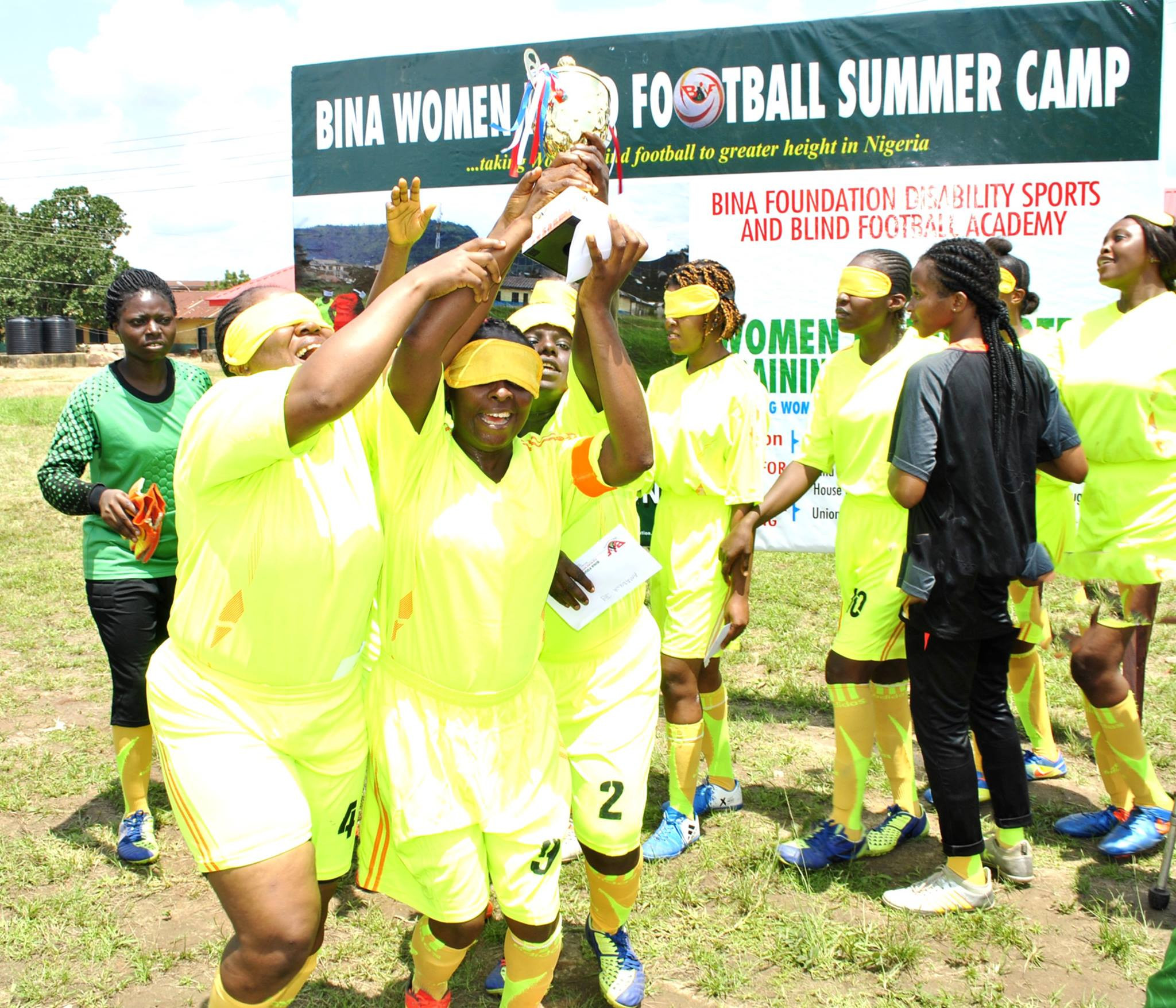 Inaugural IBSA Blind Football Women's World Championships to take place in Nigeria