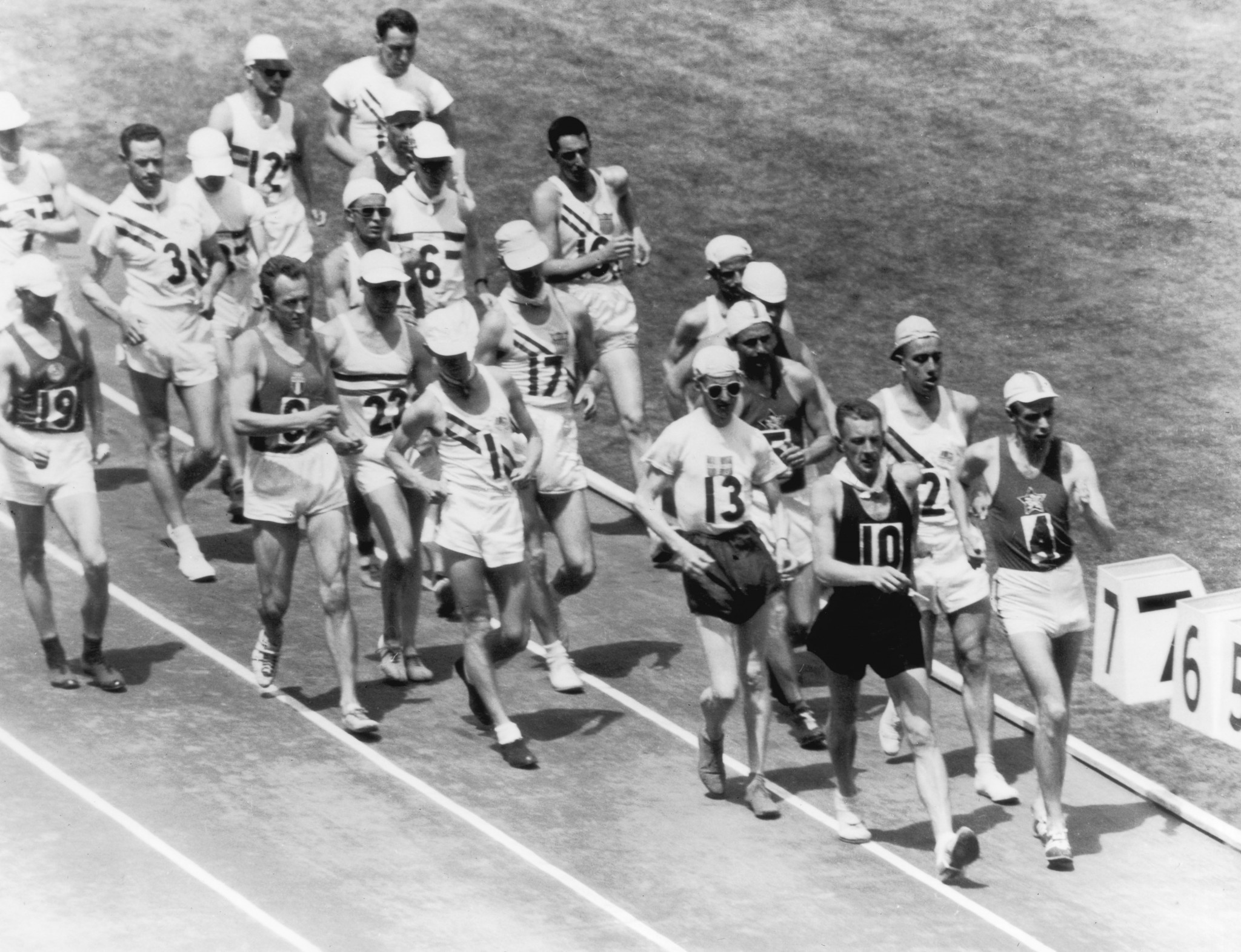 A 50km race walk for men has featured in every Olympic Games since Los Angeles 1932, except at Montreal 1976 ©Getty Images