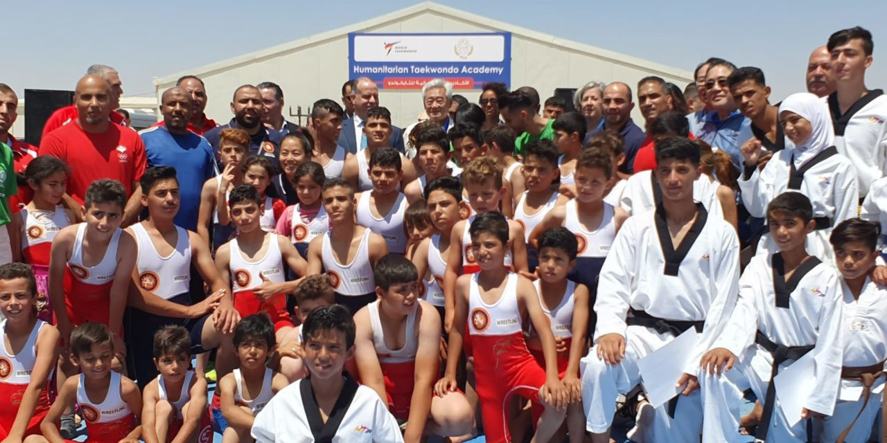 A joint event was held at Azraq alongside wrestling last year ©THF