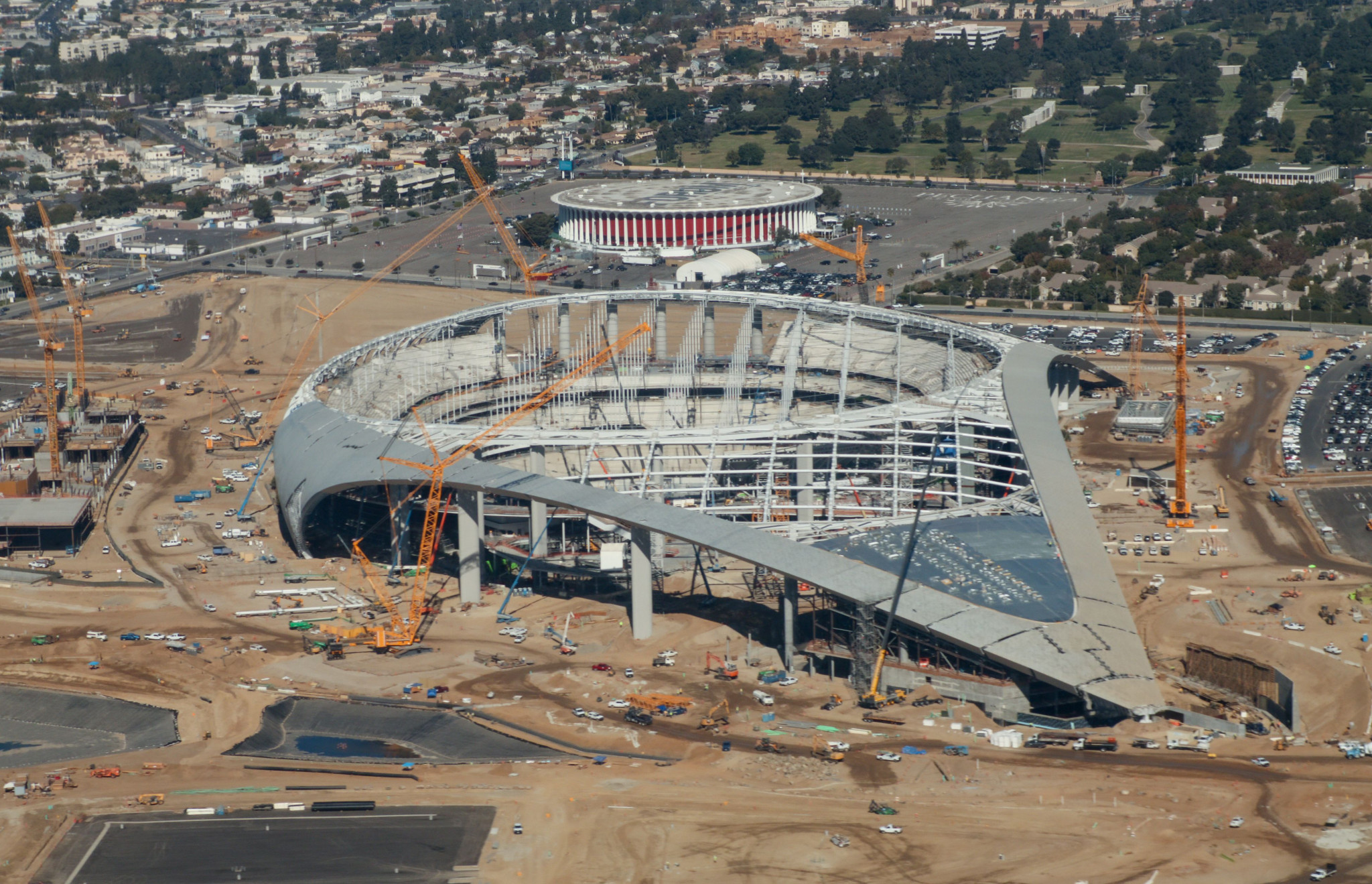 The new SoFi Stadium is due to host the 2022 Super Bowl - the biggest event in Los Angeles since the 1984 Olympics, and which will be a major warm-up for the 2028 Games ©Getty Images
