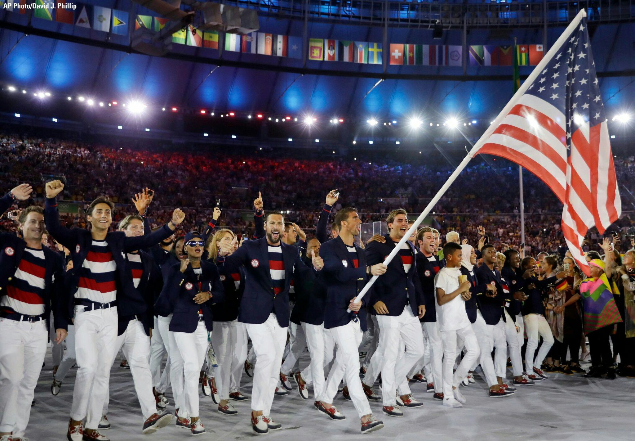 U.S. Olympic and Paralympic Properties, a joint venture between Los Angeles 2028 and the USOPC, will take over the marketing, sponsorship and licensed merchandise programmes for Team USA from 2021 ©Getty Images