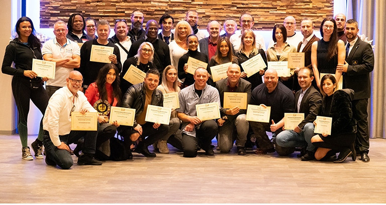 The Belgium Bodybuilding and Fitness Federation organised a successful judge seminar for 40 people ©BIBFF