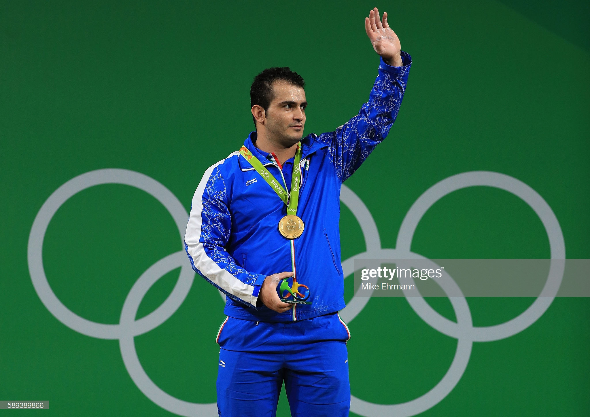 Sohrab Moradi could yet make the Tokyo 2020 Olympic Games as one of Iran's weightlifters © Getty Images