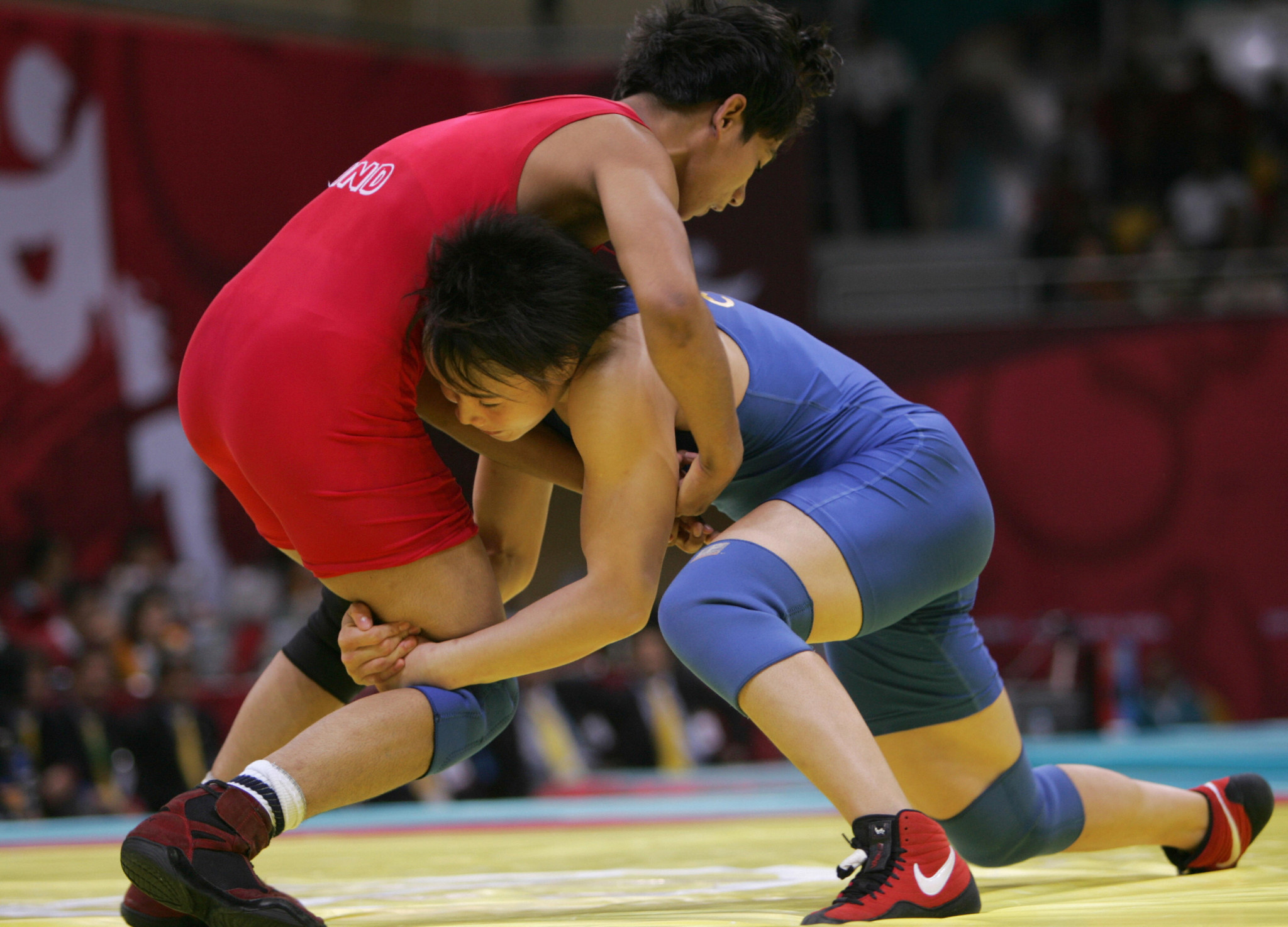 Chinese athletes will be eligible to compete according to the WFI ©Getty Images