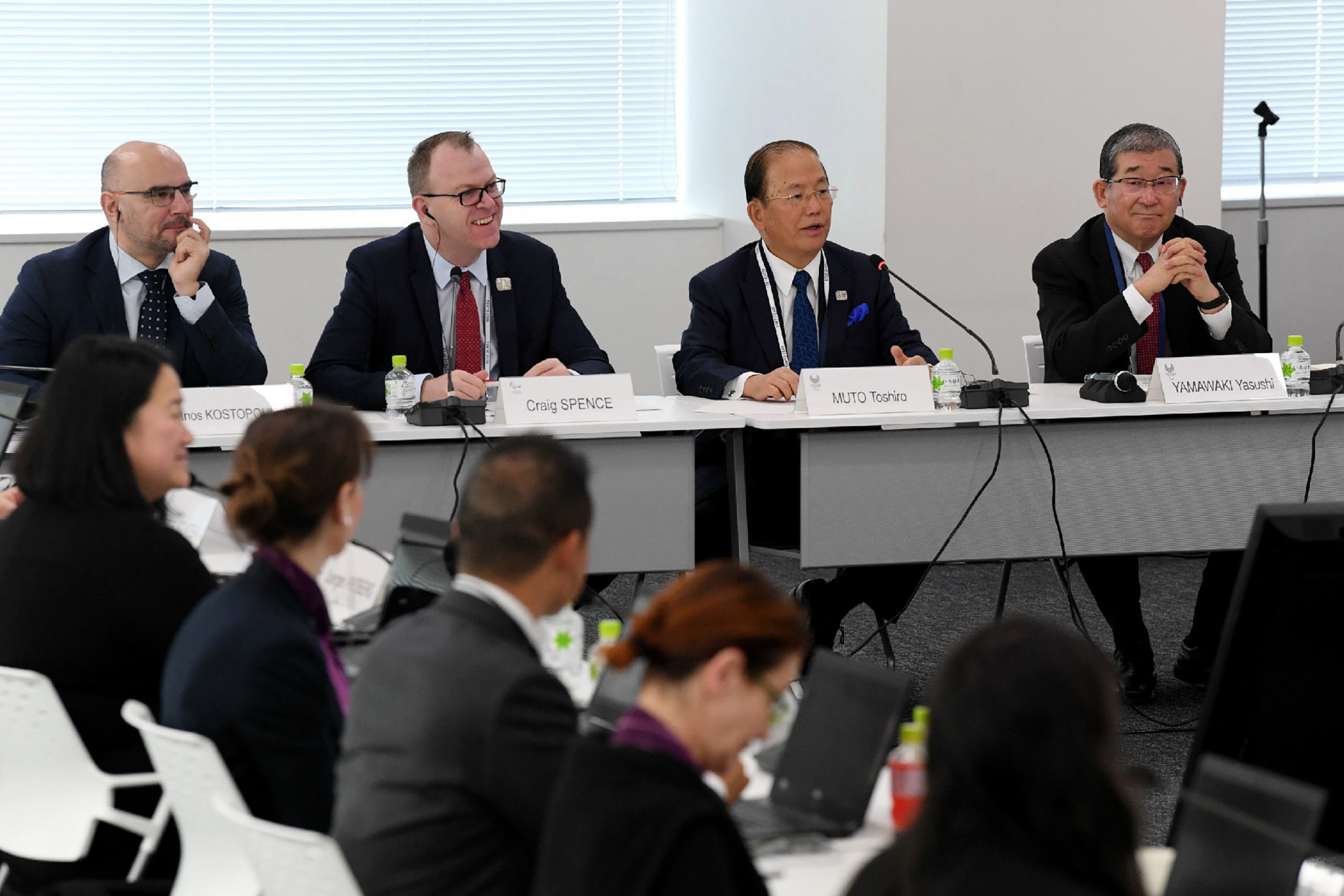 Coronavirus was discussed at the IPC Project Review in Tokyo ©Getty Images