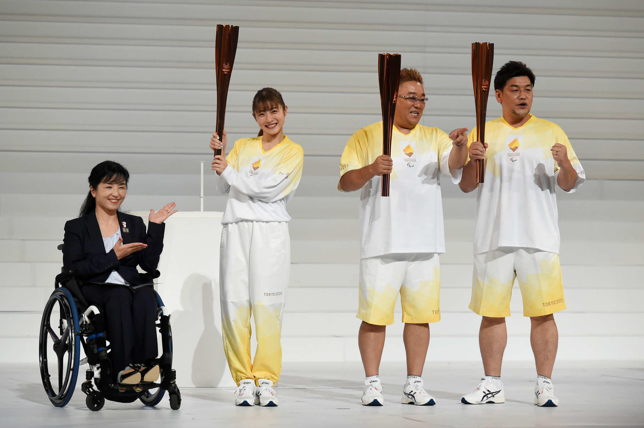 Flame festivals will accompany the Tokyo 2020 Paralympic Torch Relay ©Getty Images