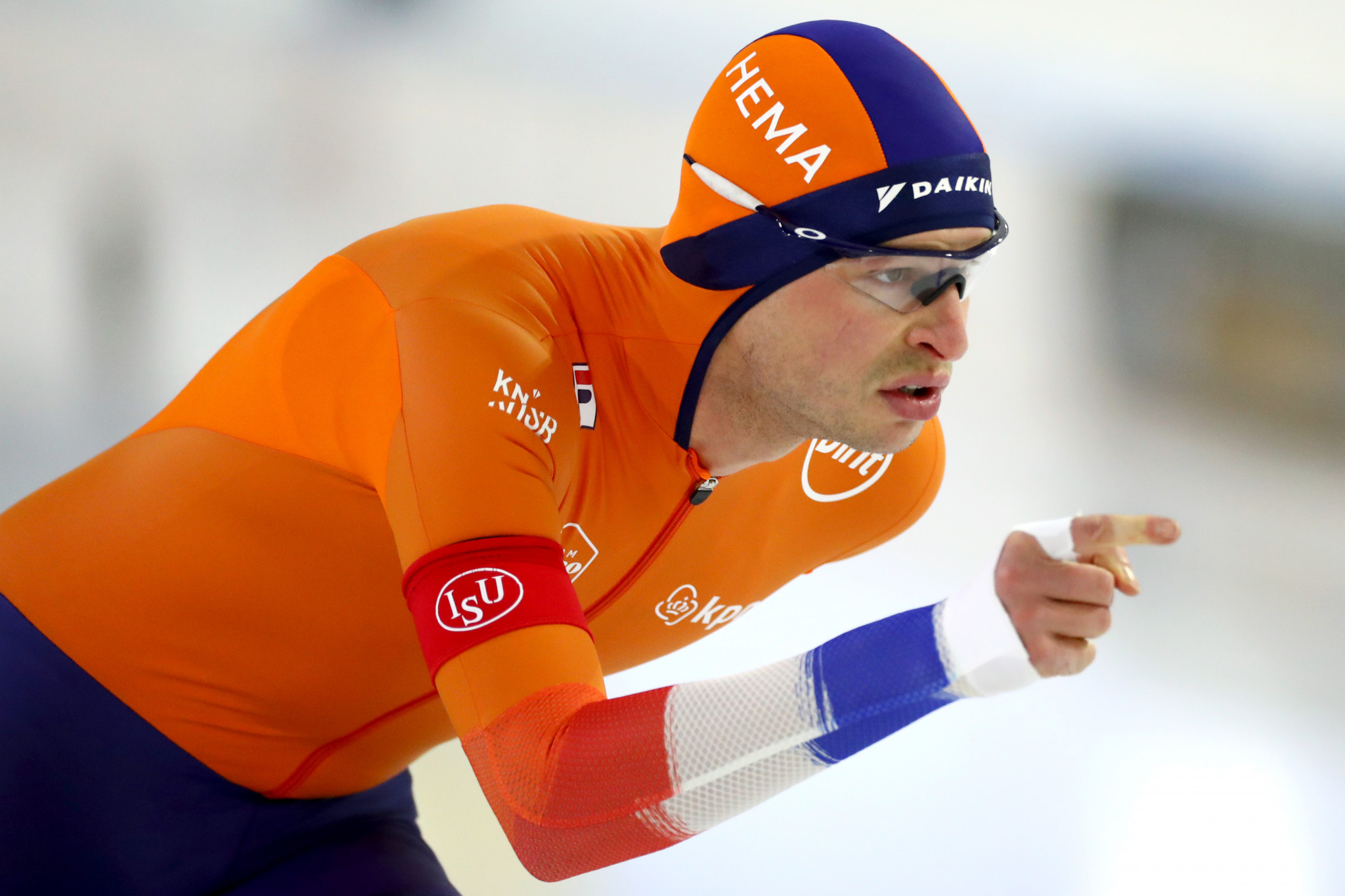 Sven Kramer is competing for only the second time this season in Calgary ©Getty Images