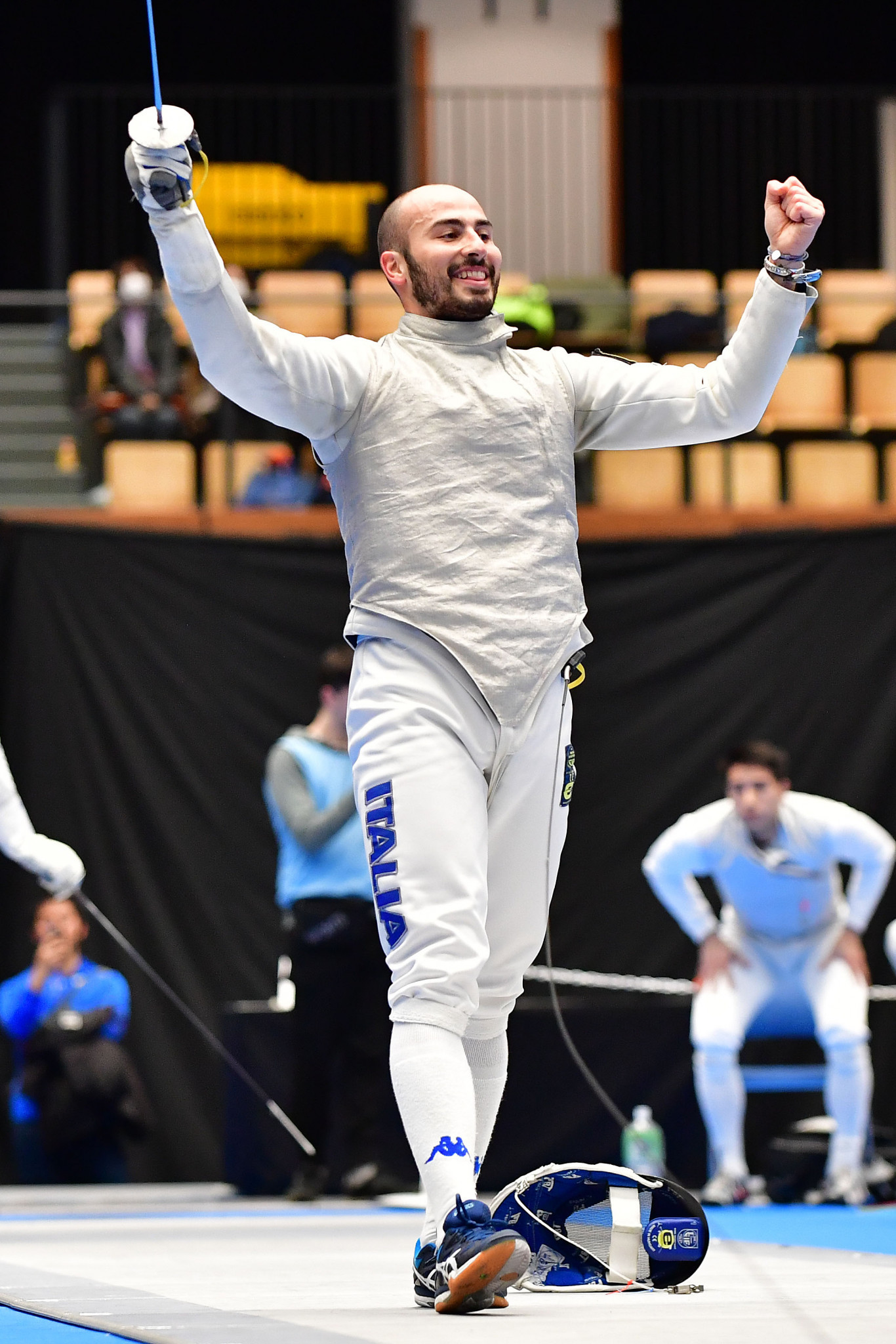 Italy's Foconi enters home FIE Grand Prix as world number one