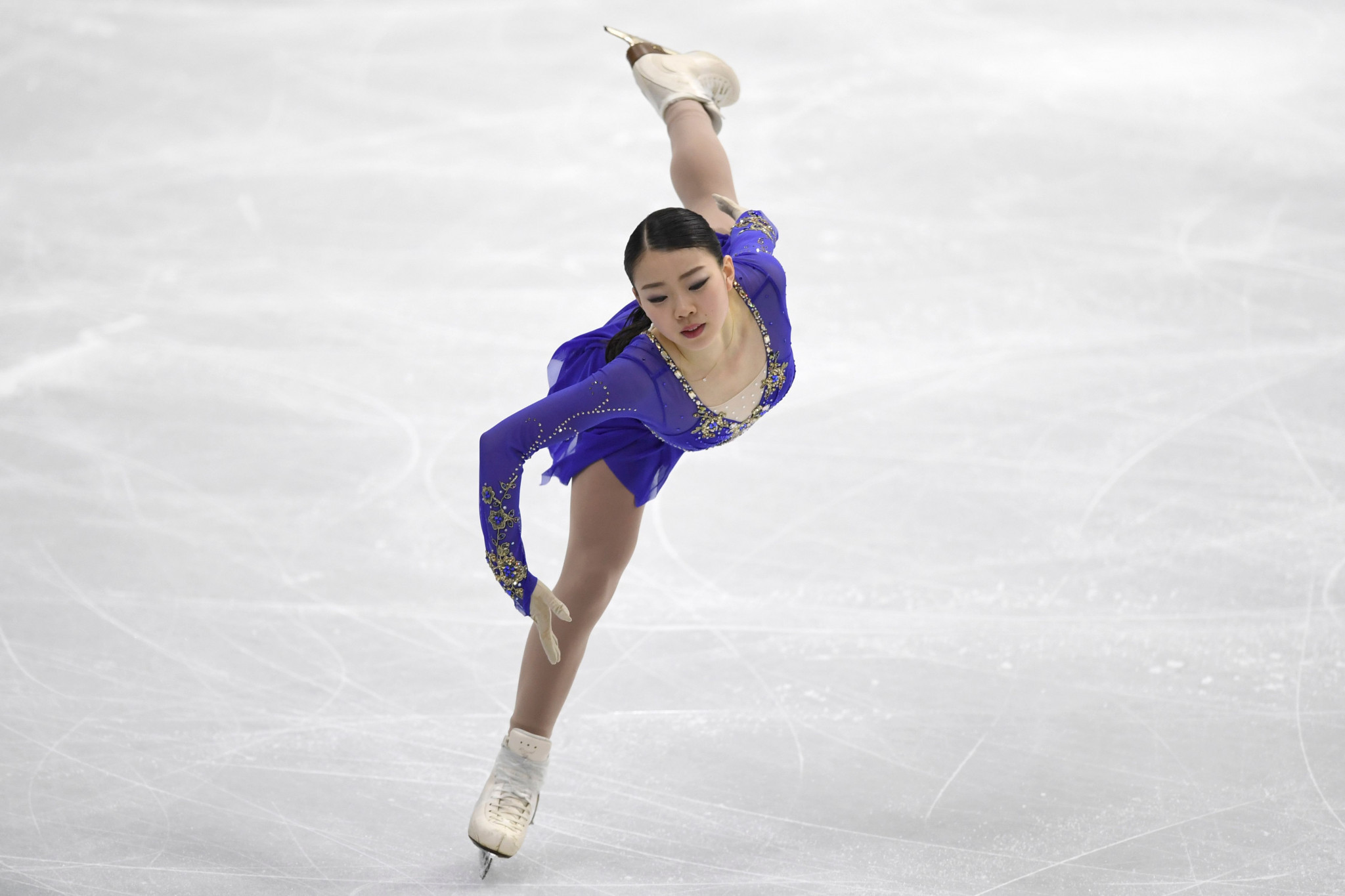 Defending champion Kihira claims lead in women's event at ISU Four Continents Figure Skating Championships