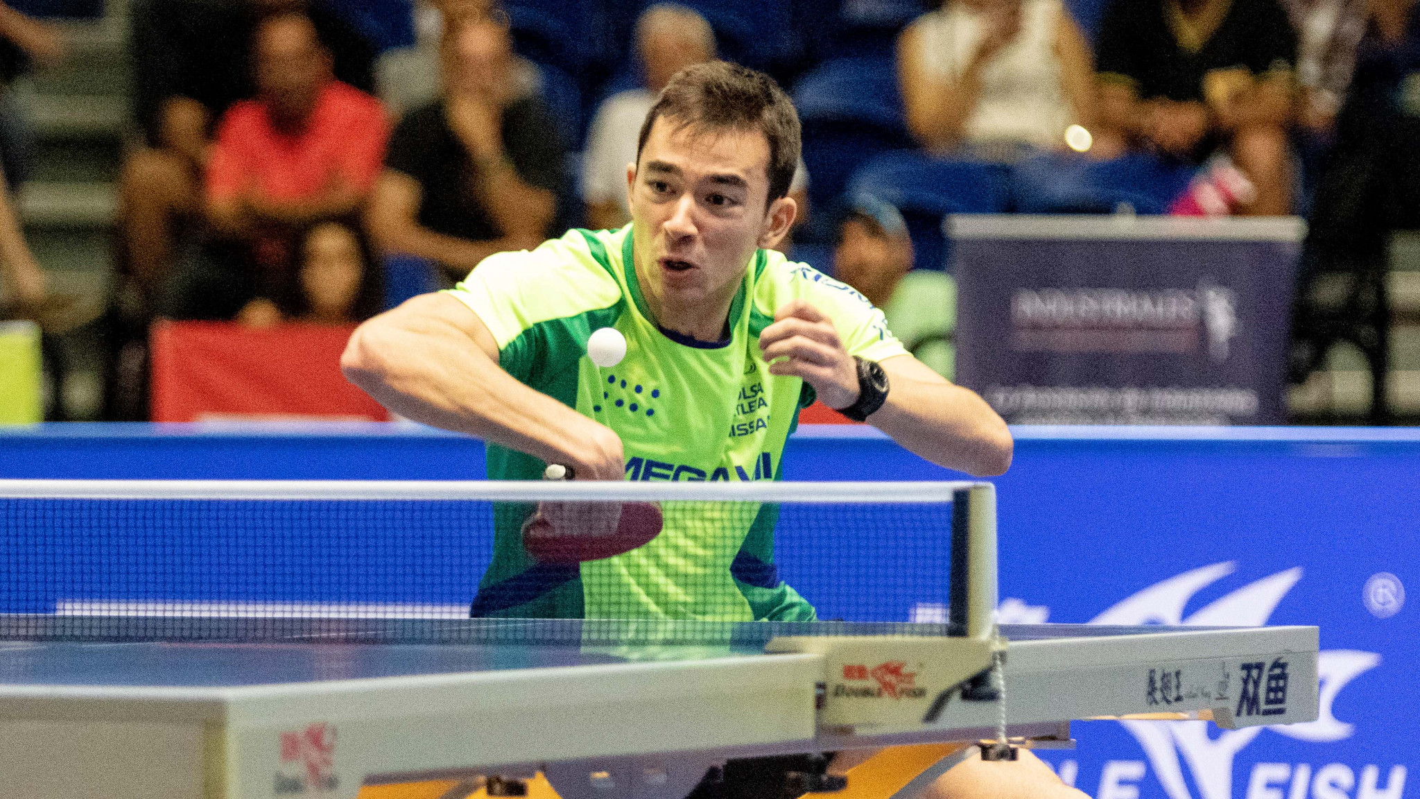 Calderano and Diaz face tough defence of ITTF Pan American Cup titles