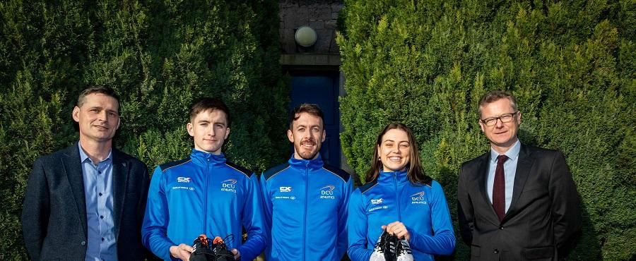Some of DCU's brightest athletes will directly benefit from the new partnership with Athletics Ireland ©Dublin City University