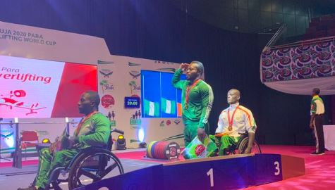 Paralympic champions Osman and Kehinde shine in World Para Powerlifting World Cup