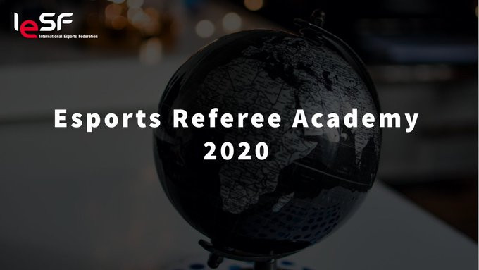 IESF announced the launch of an International Esports Referee Academy ©IESF