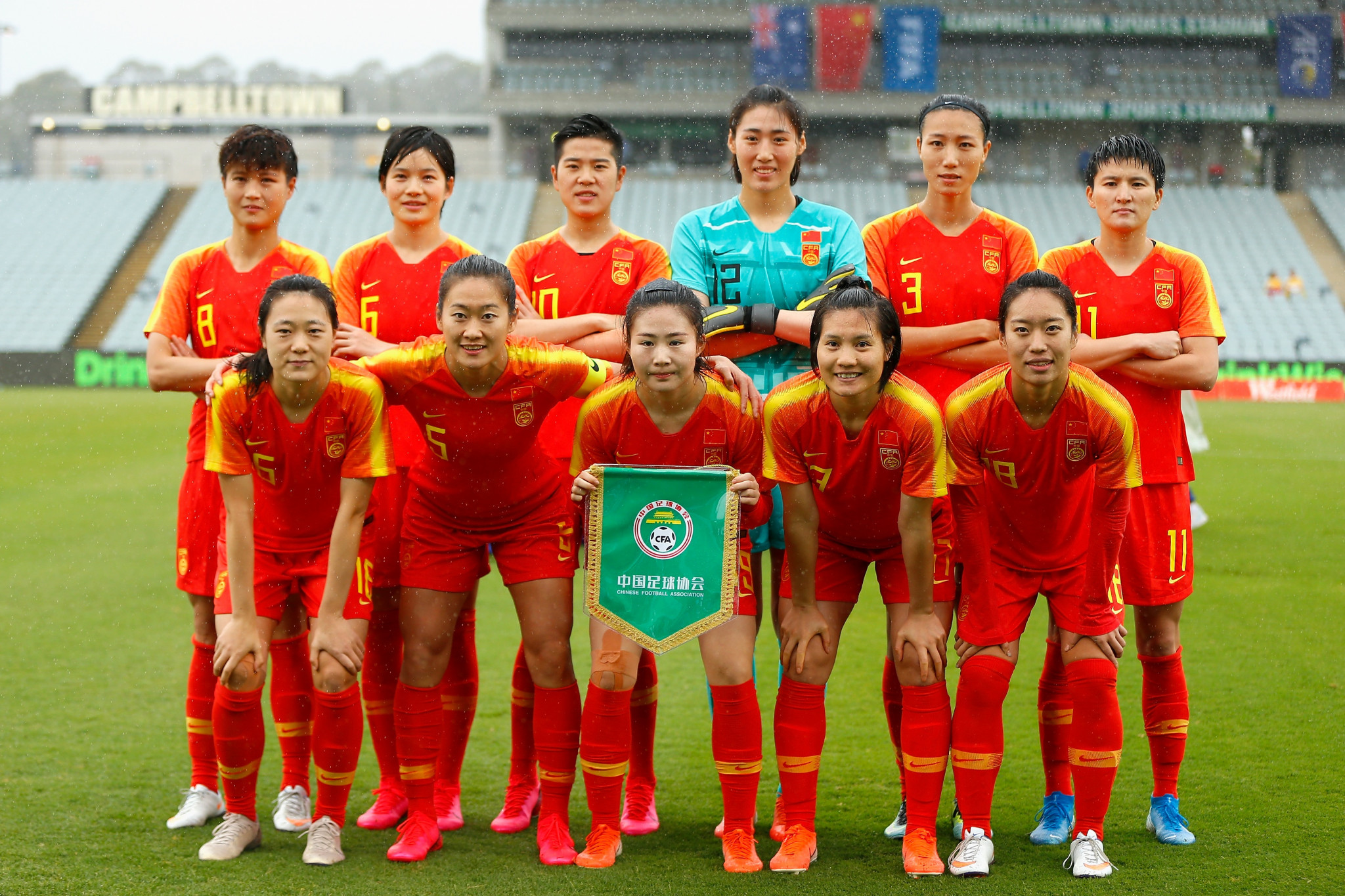 China finally begin AFC Women's Olympic Qualifiers with rout against Thailand