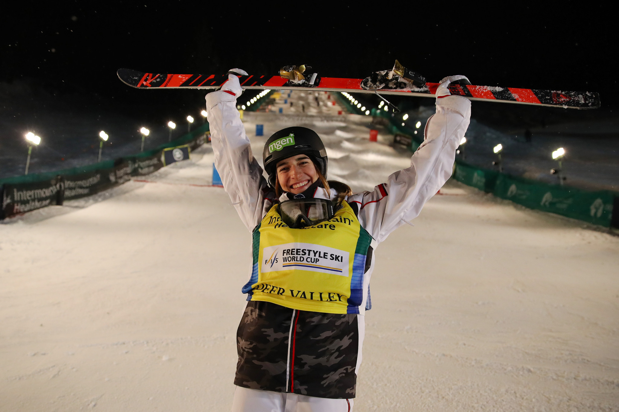 Laffont continues Moguls World Cup winning streak as she triumphs in sixth straight event