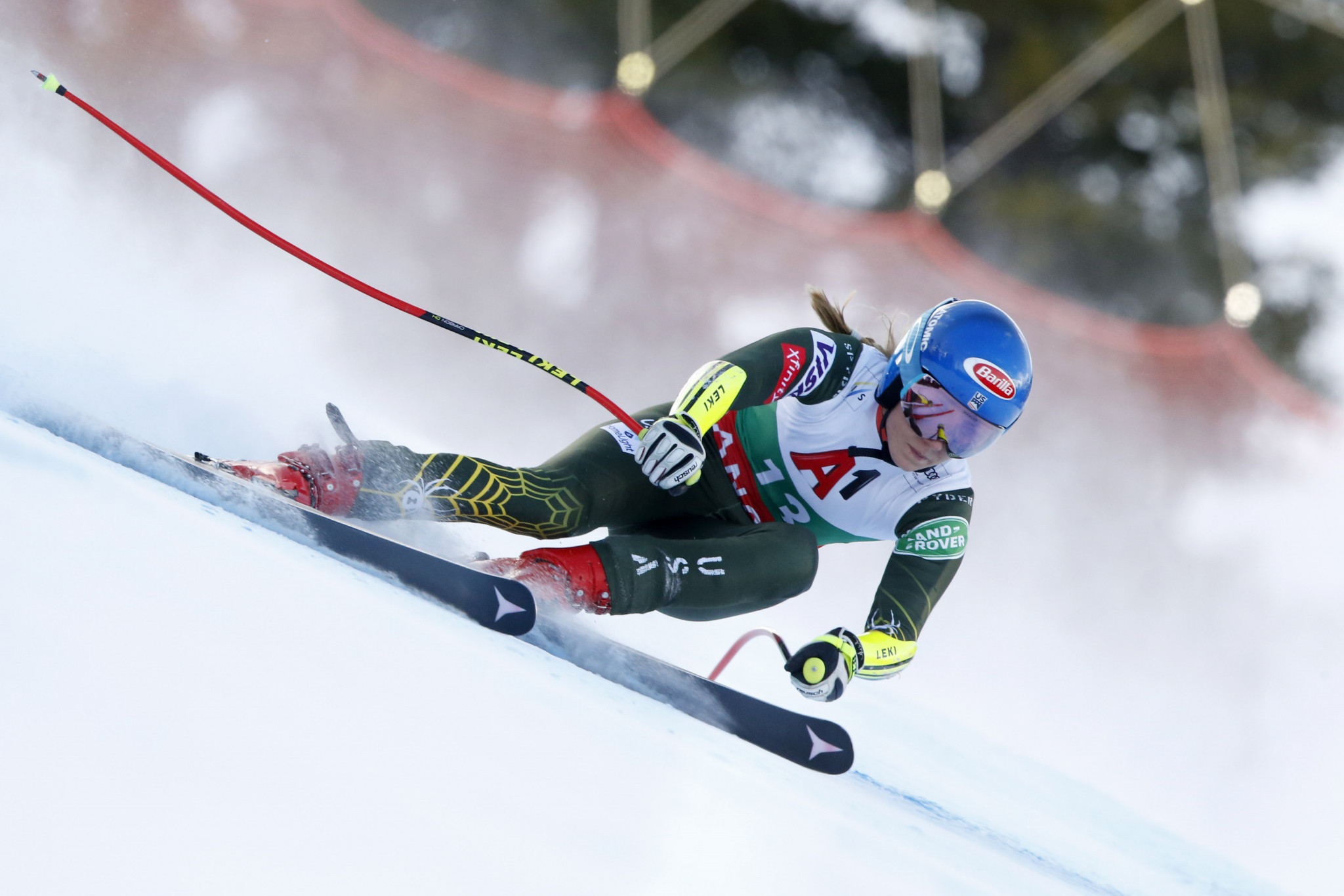 Shiffrin earns third consecutive athlete of the month award
