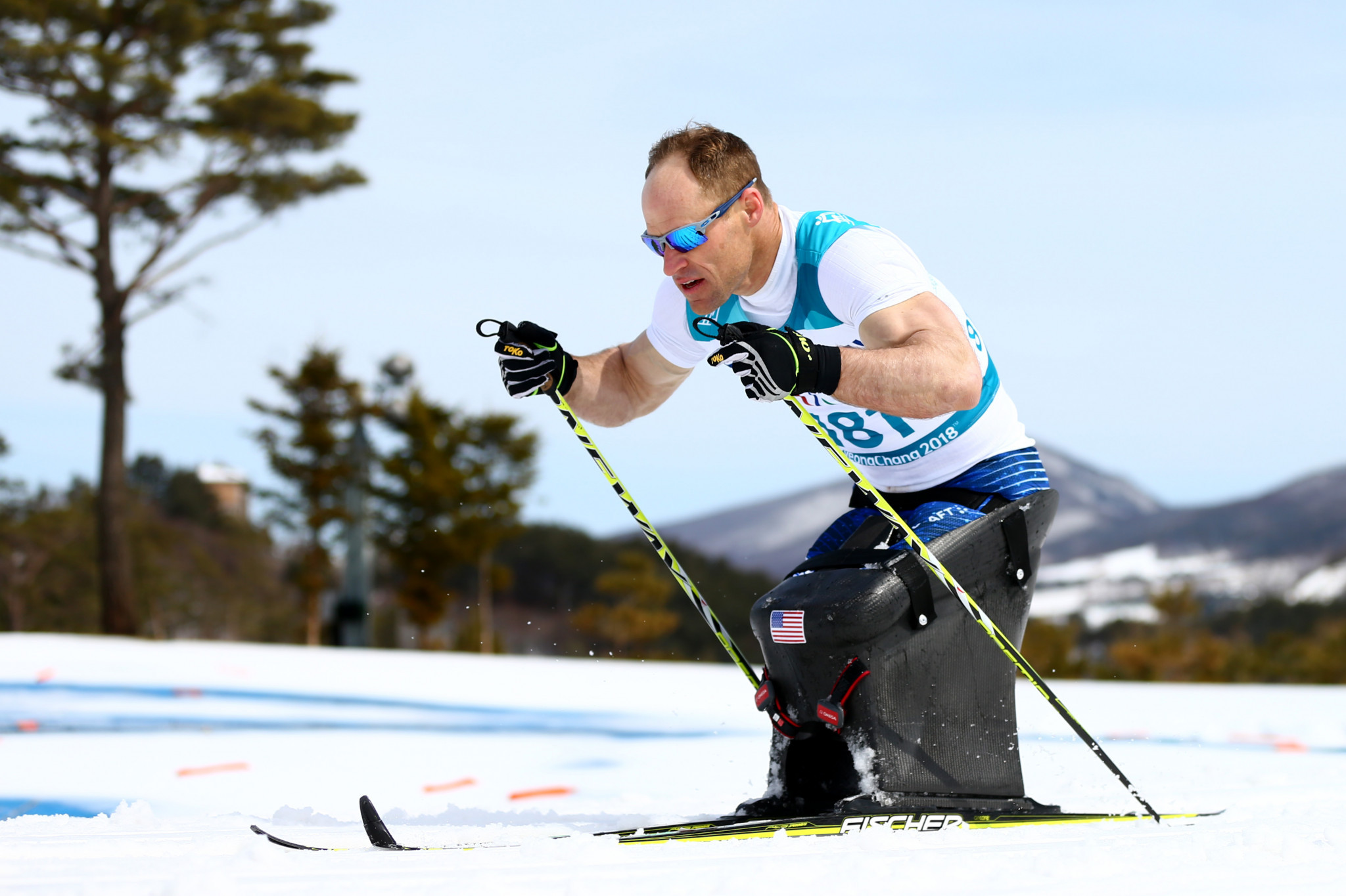 Para Nordic skier Daniel Cnossen won the Team USA male athlete of the month award for January ©Getty Images