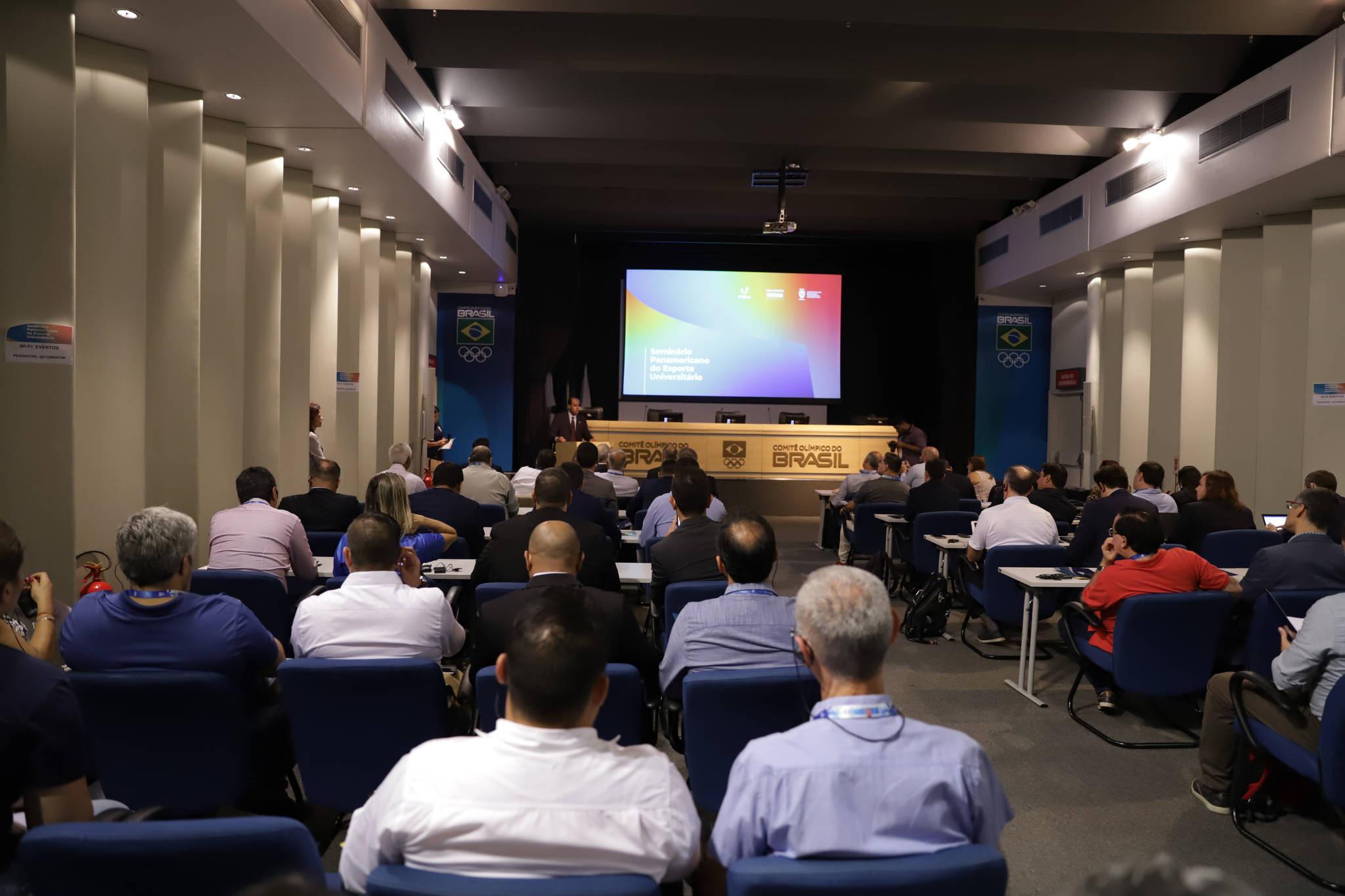 Pan American University Sports Seminar begins in Rio de Janeiro