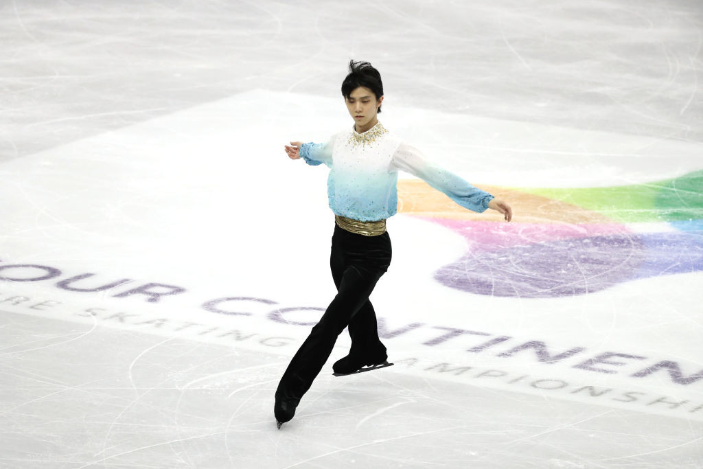 "Hanyu's ""most perfect performance"" sets record short programme score at ISU Four Continents Championships"