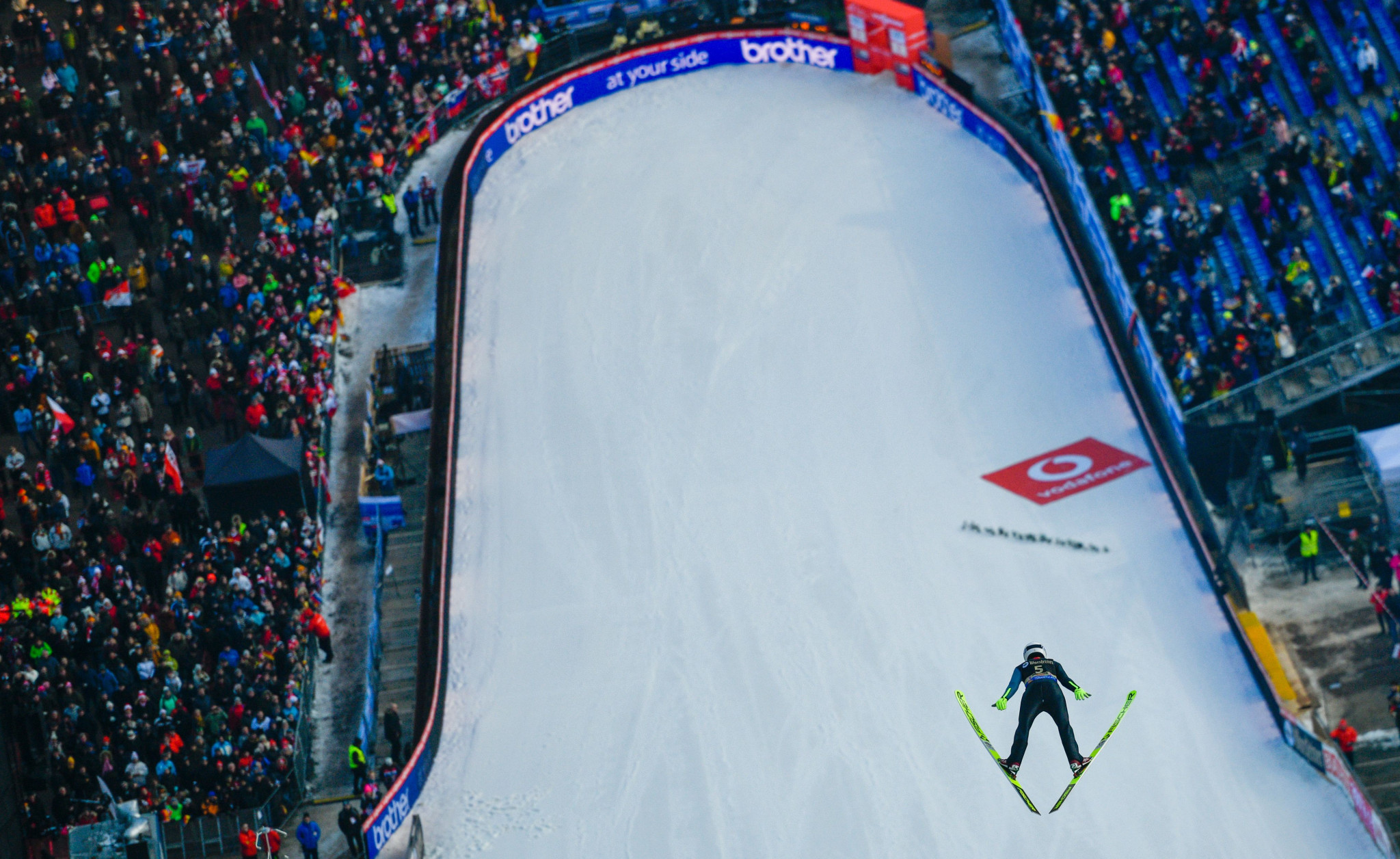 Strong winds delay FIS Ski Jumping World Cup in Willingen