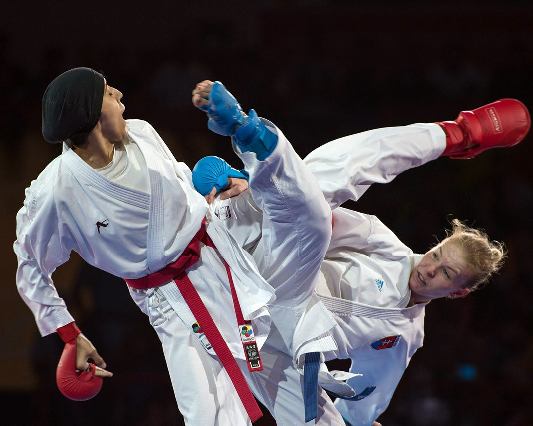 Hosts Morocco and Egypt started characteristically well at this year's African Karate Federation Championships ©WKF