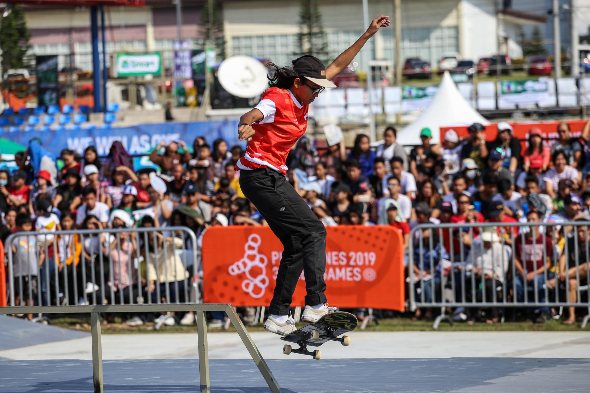 Organisers of this month's Asian Street Skateboarding Continental Championships in Singapore have advised participants to withhold travel plans due to the spread of coronavirus ©Getty Images