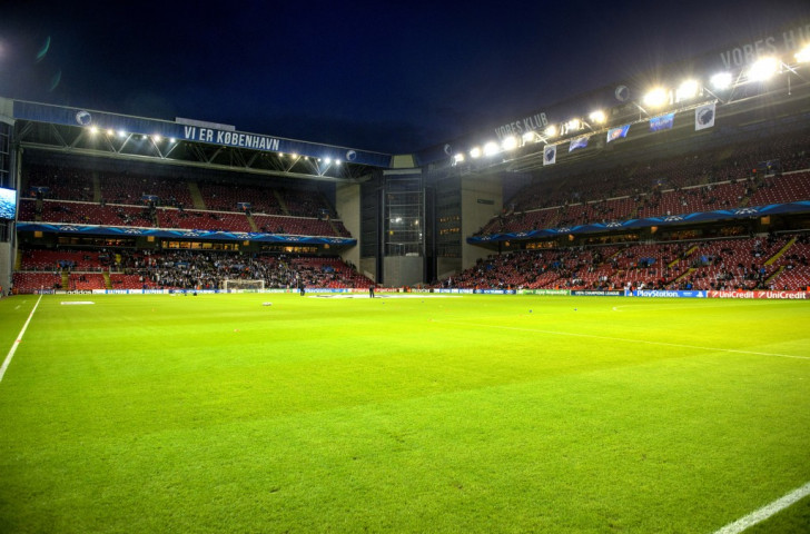 The Parken Stadium, the home of FC Copenhagen, is set to stage four matches during UEFA Euro 2020