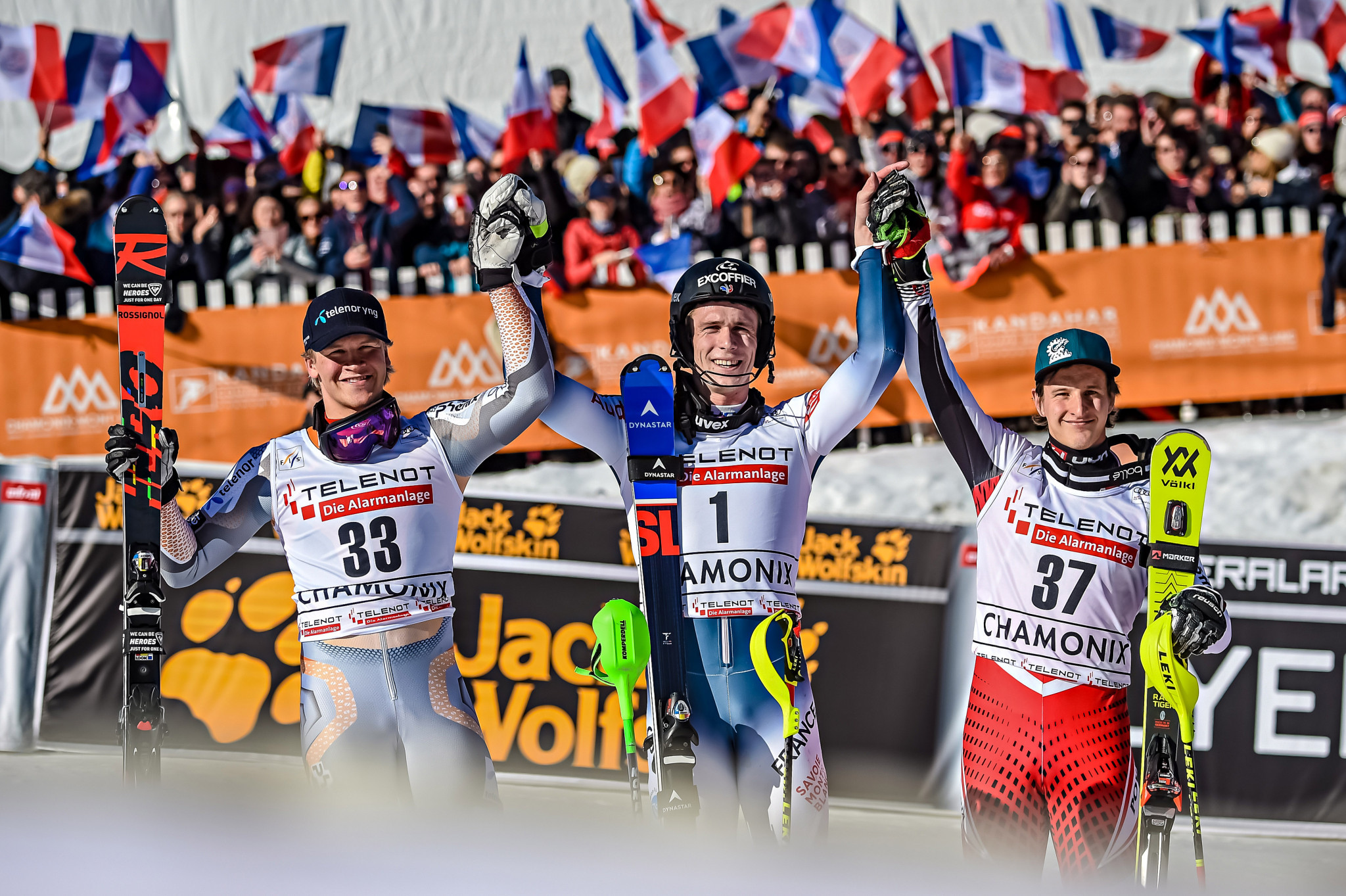 Frenchman Noël takes home slalom victory at FIS Alpine Ski World Cup