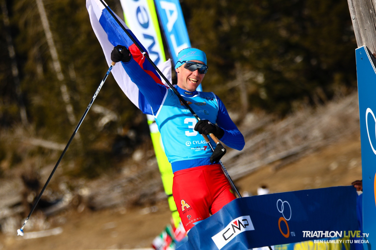 Russia dominate ITU Winter Triathlon World Championships