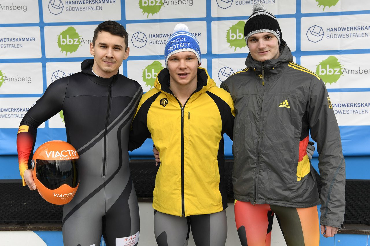 Keisinger successfully defends title at IBSF World Junior Championships