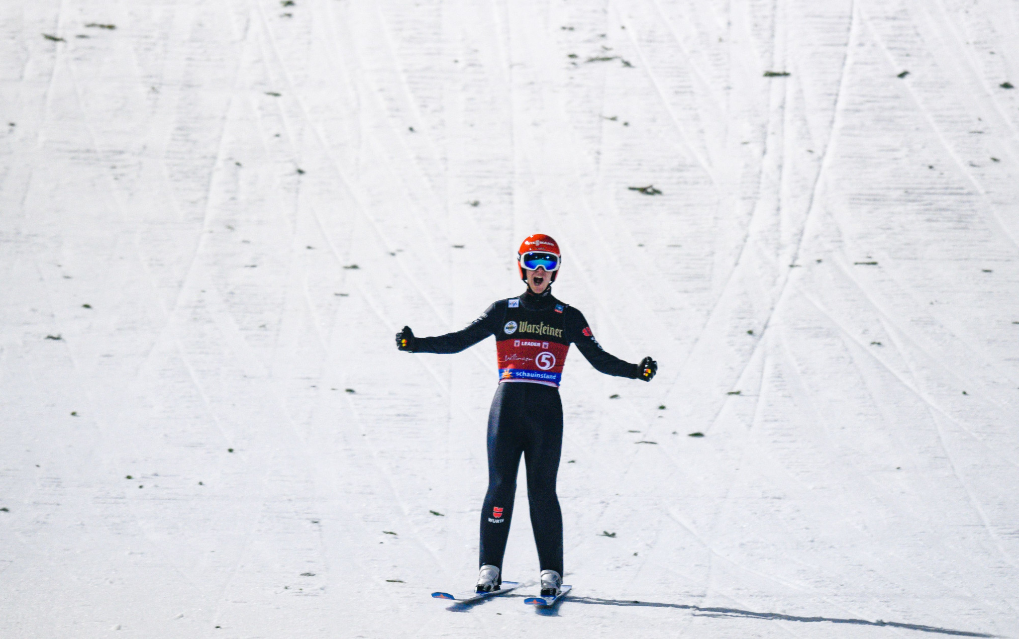 Leyhe records first FIS Ski Jumping World Cup win in Willingen