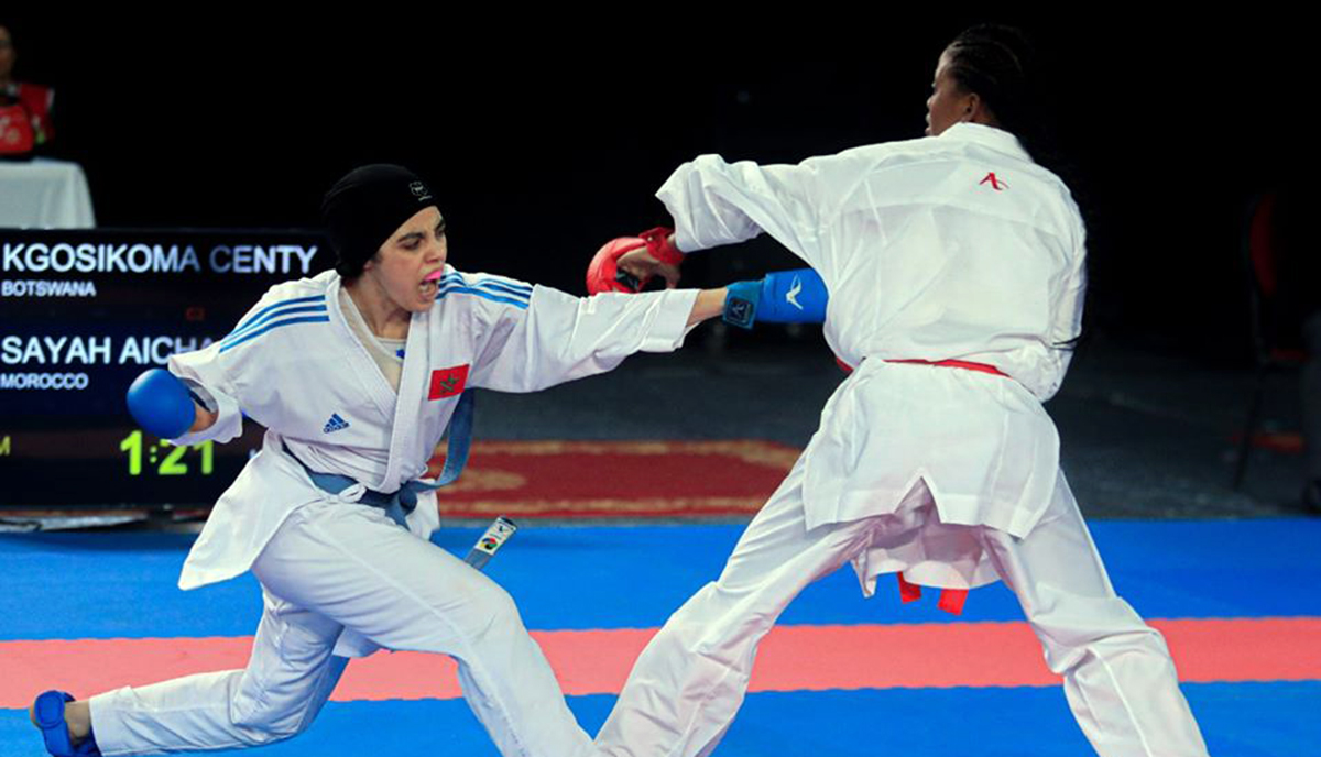 Hosts Morocco earn six titles on second day of African Karate Championships