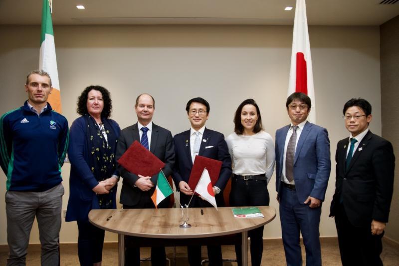 Hockey Ireland signs Tokyo 2020 training camp deal